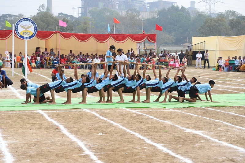 bright scholars' school sports day